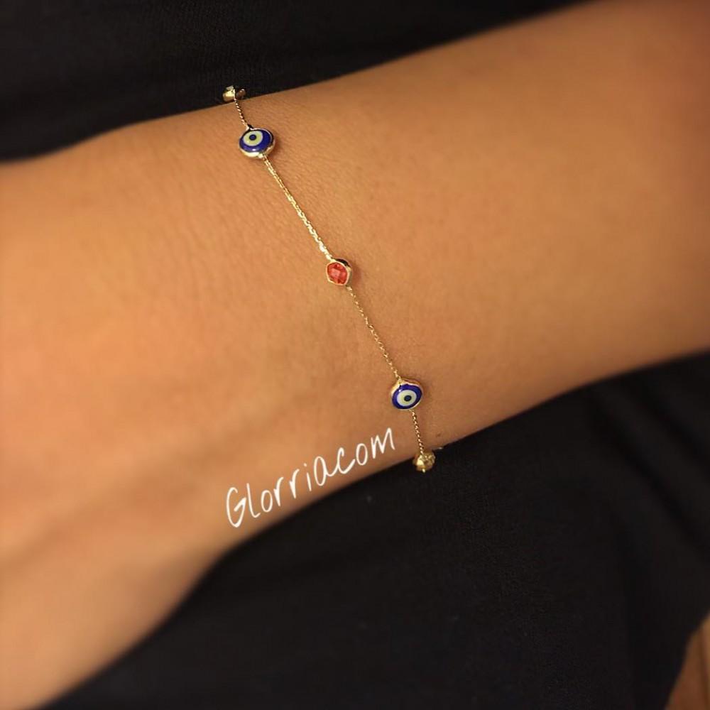Glorria Gold Colored Bracelet
