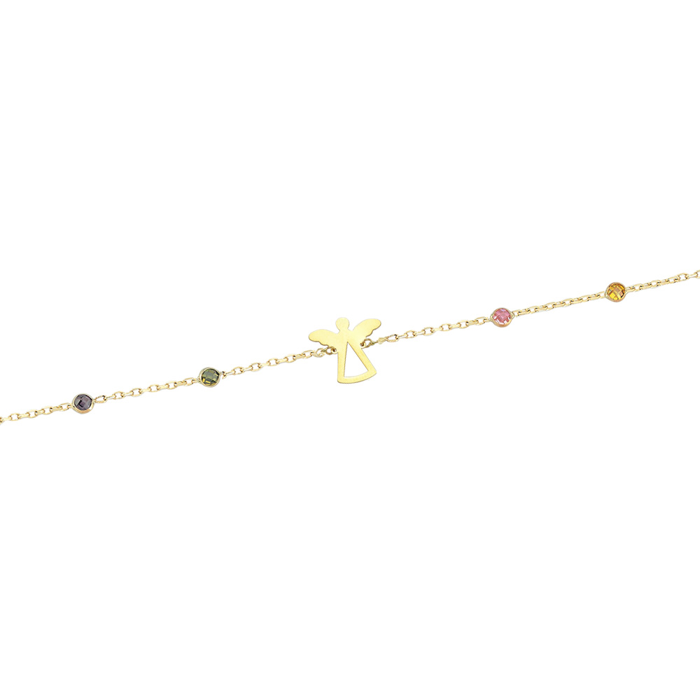 Glorria Gold Angel Bracelet