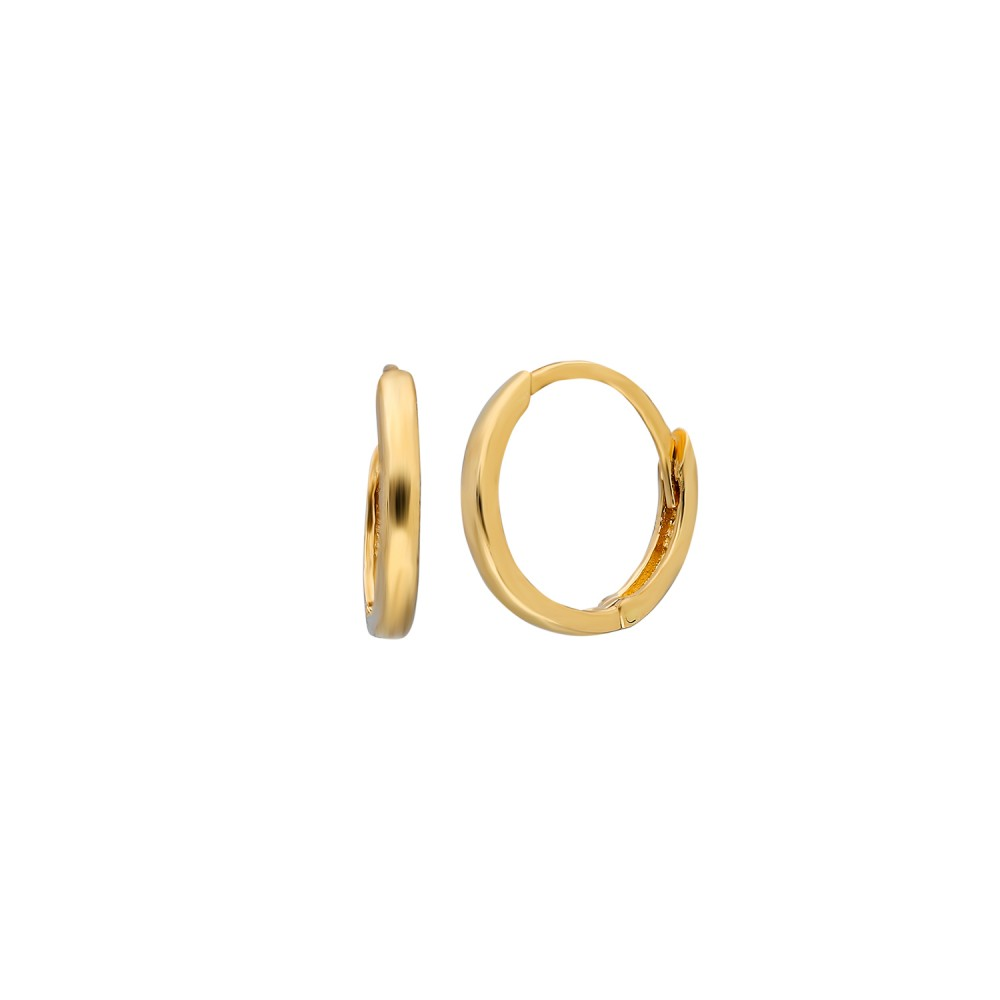 Glorria Gold 1 cm Circle Earring