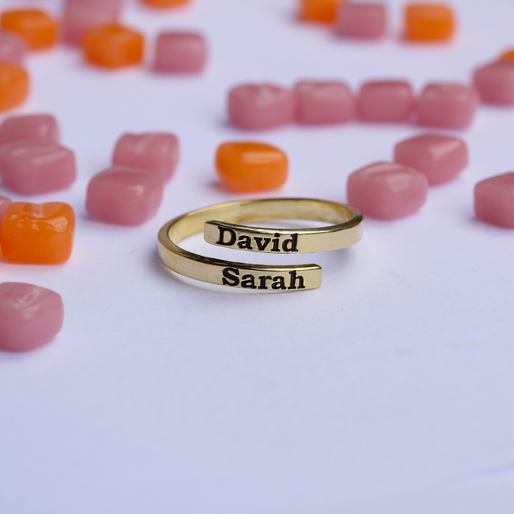 Glorria Silver Custom Couple Ring