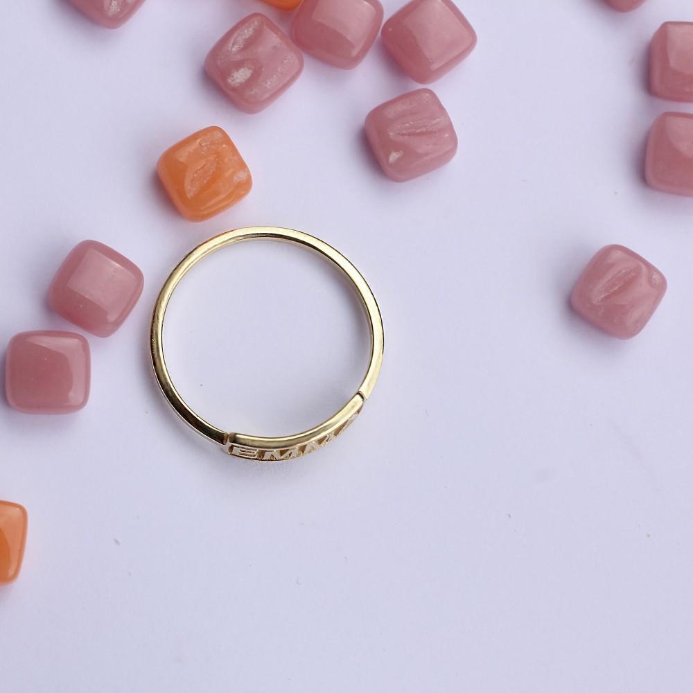 Glorria Silver Custom Stackable Ring