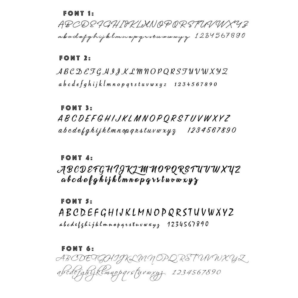 Glorria Silver Custom Name Ring