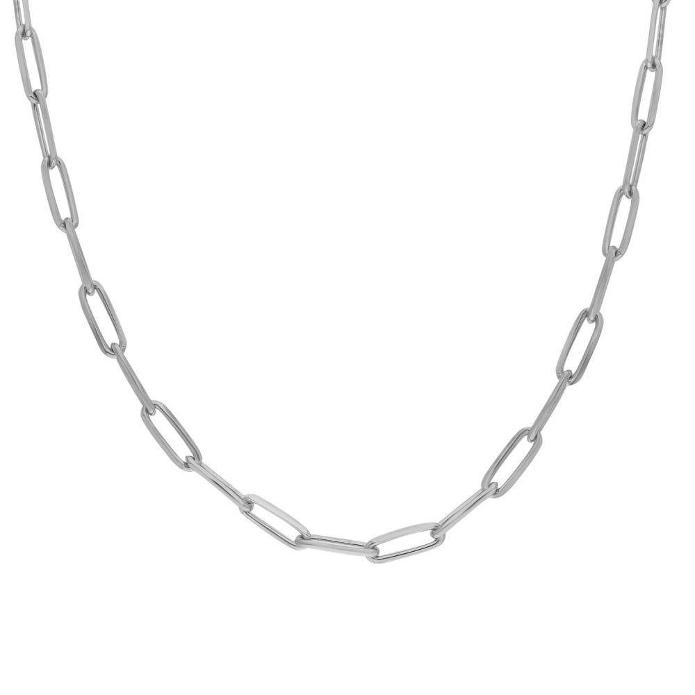 Glorria Silver Crown Chain