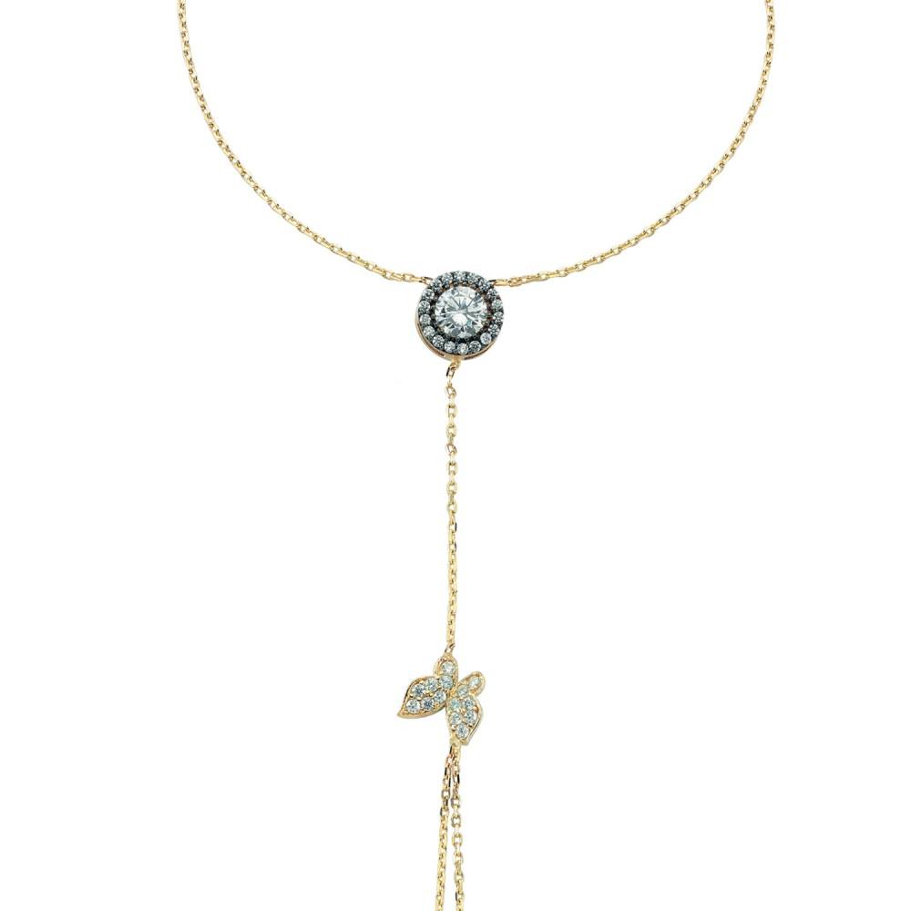 Glorria Gold Butterfly Shahmeran Bracelet