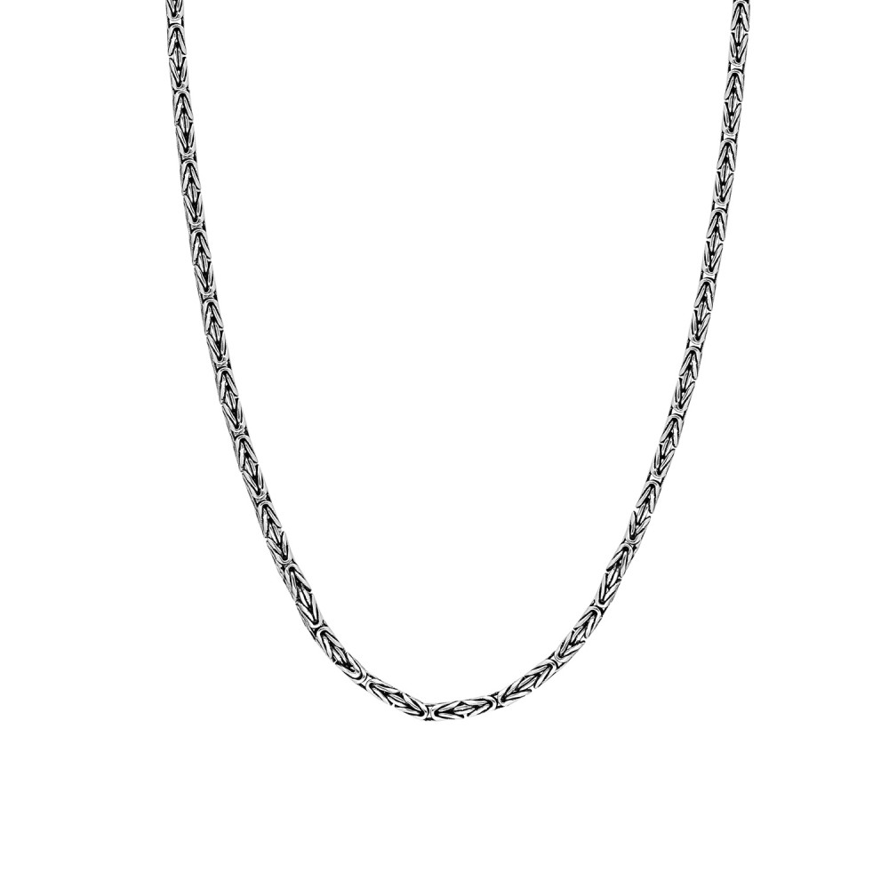 Glorria Silver King Chain