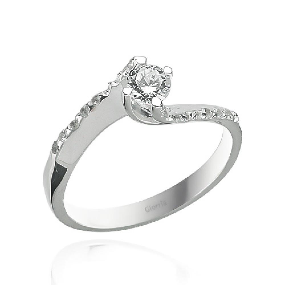 Glorria 0,37 Carat Diamond Solitaire Ring
