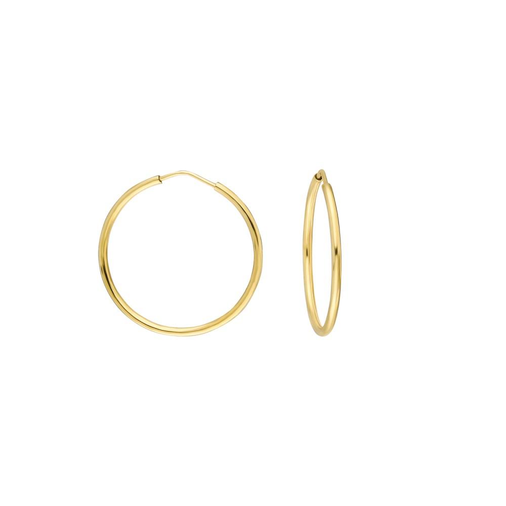 Glorria Gold 2,5 cm Hoop Earrings