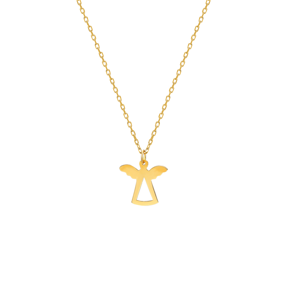 Glorria Gold Angel Necklace