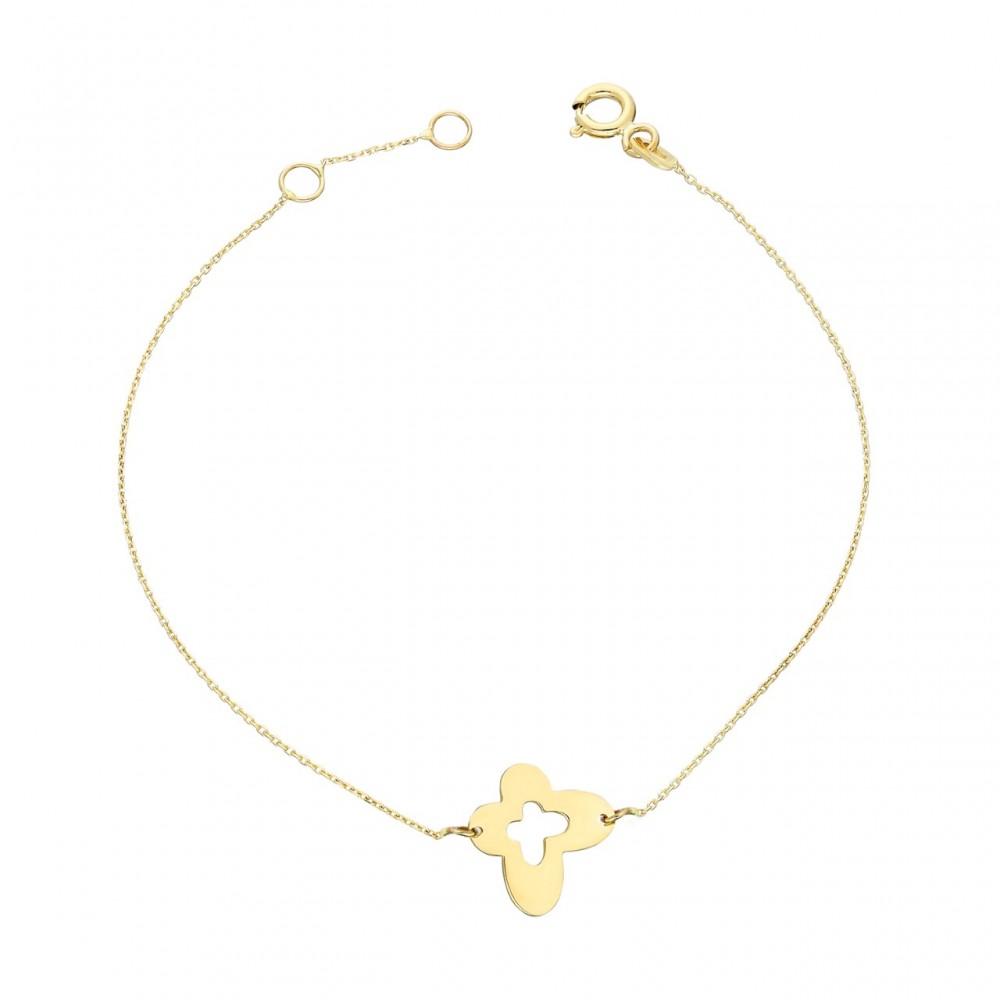 Glorria Gold Butterfly Bracalet