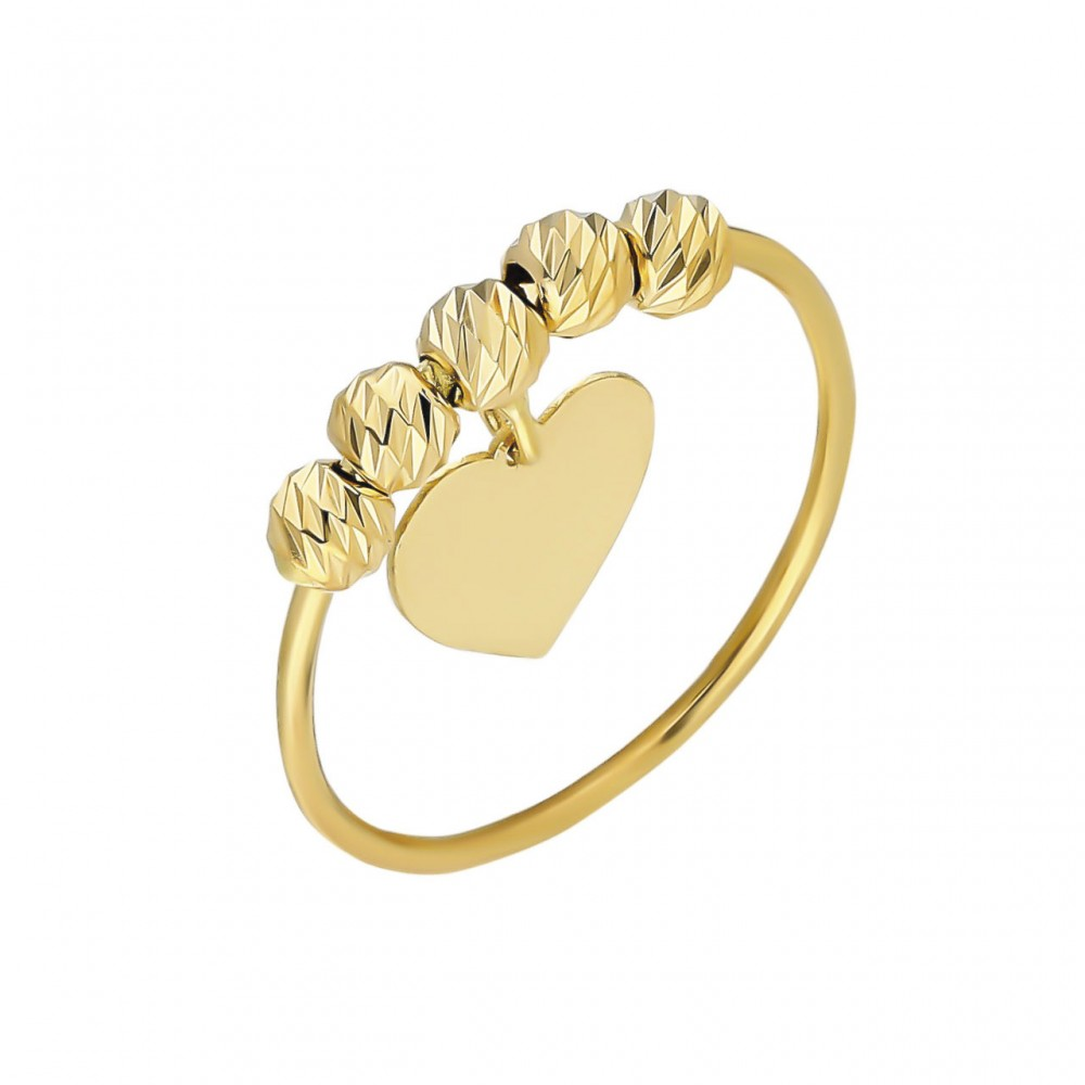 Glorria Gold Dorika Heart