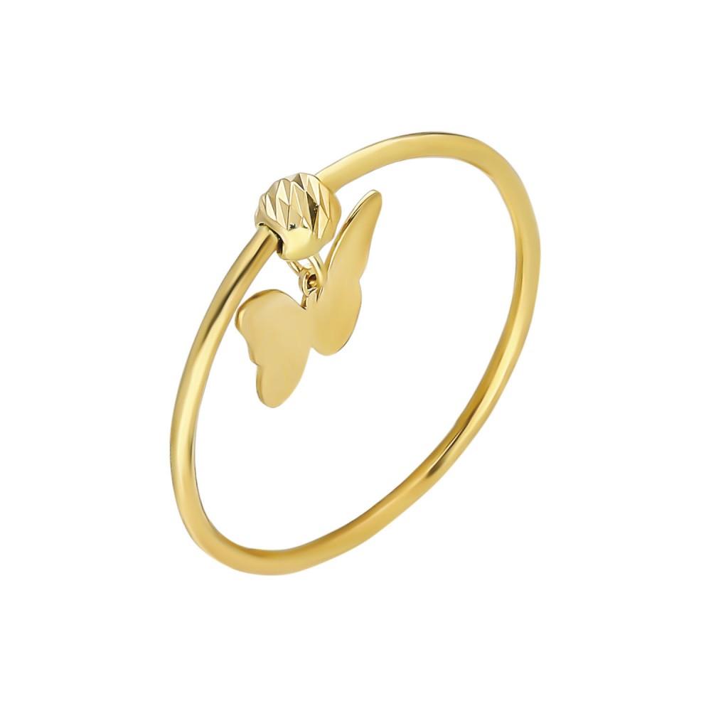 Glorria Gold Dorika Butterfly