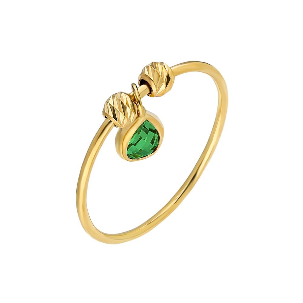 Glorria Gold Dorika Green Drop