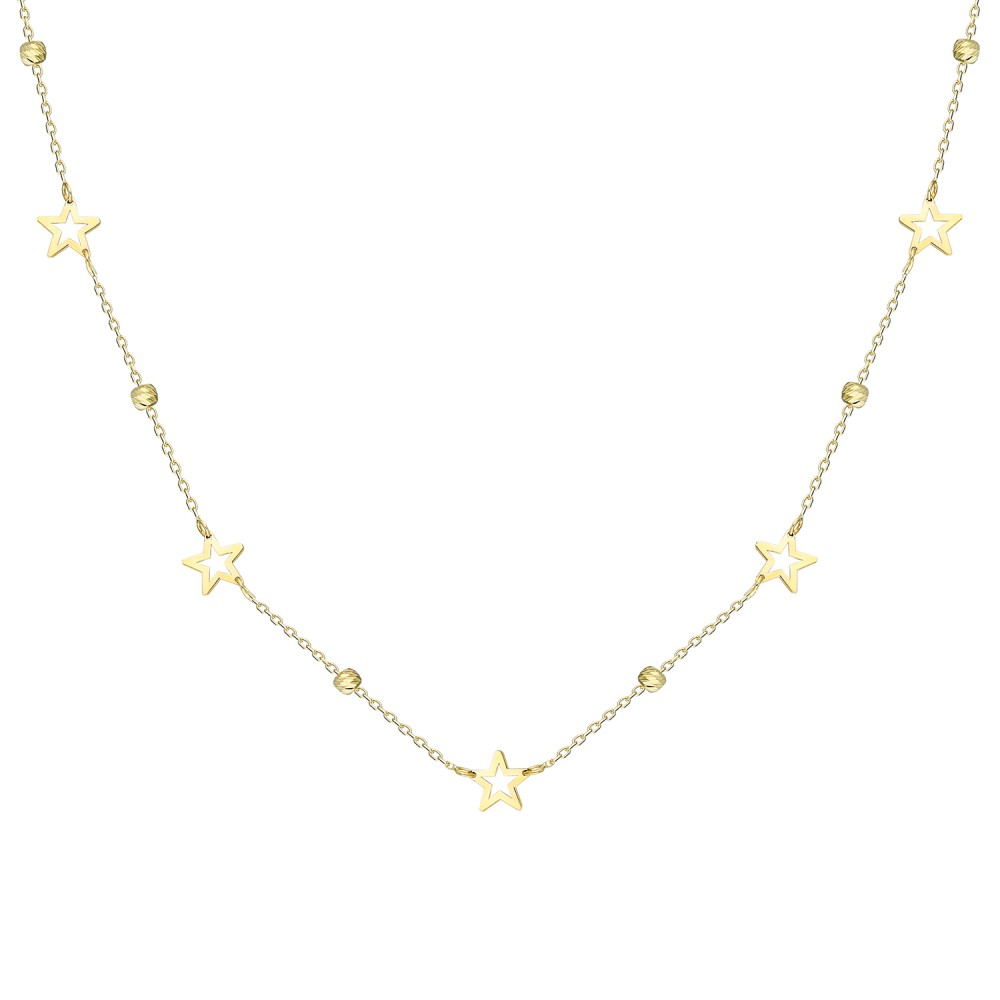 Glorria Gold Dorika Star Necklace