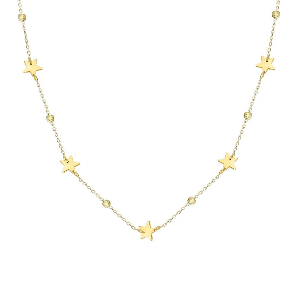 Glorria Gold Dorika Star Necklace