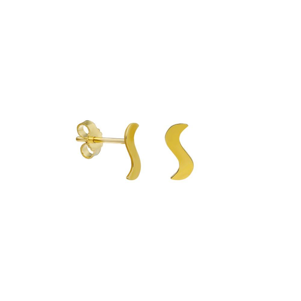 Glorria Gold S Earring
