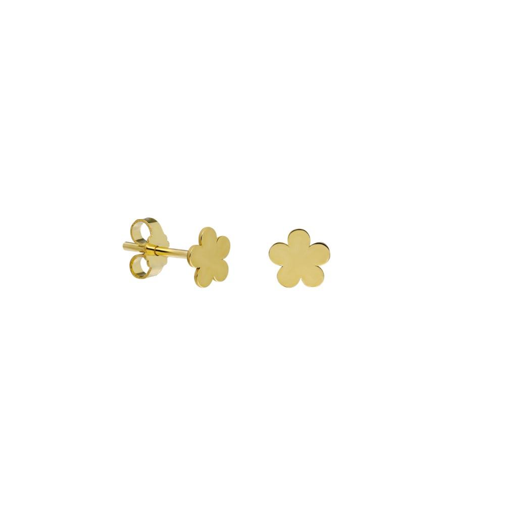 Glorria Gold Flower Earring