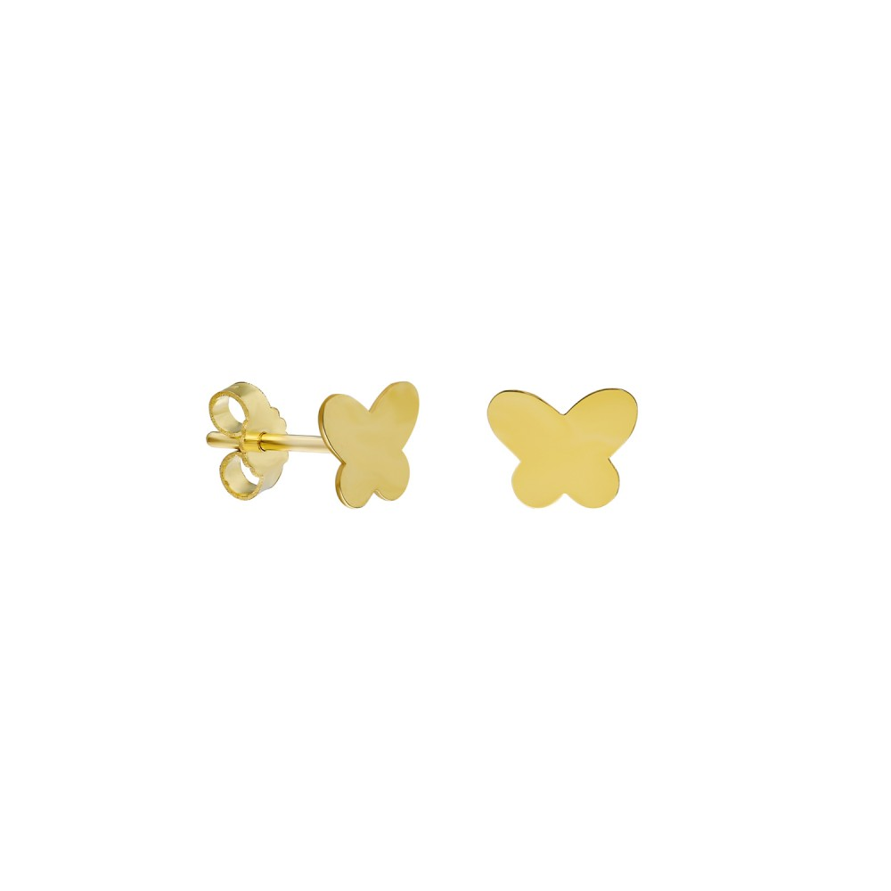 Glorria Gold Butterfly Earring