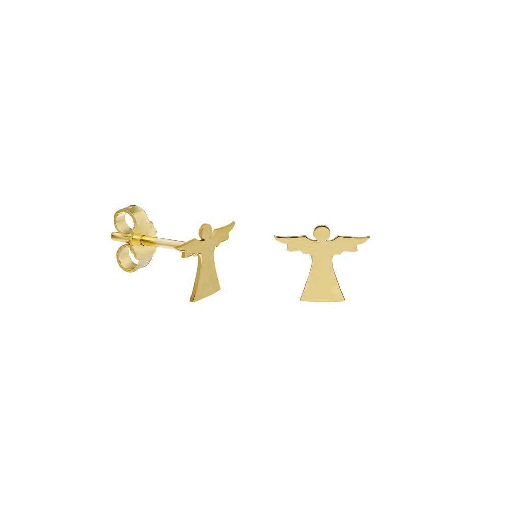 Glorria Gold Angel Earring