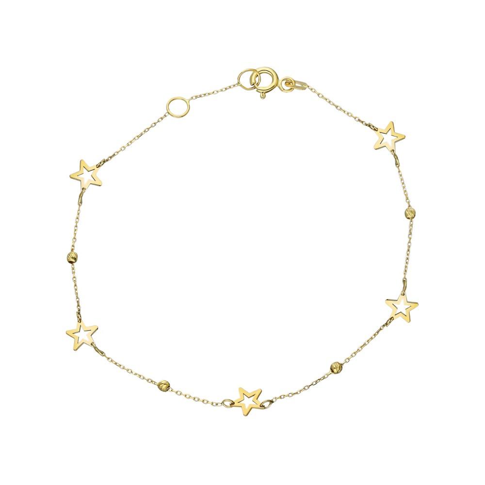 Glorria Gold Dorika Star Bracelet