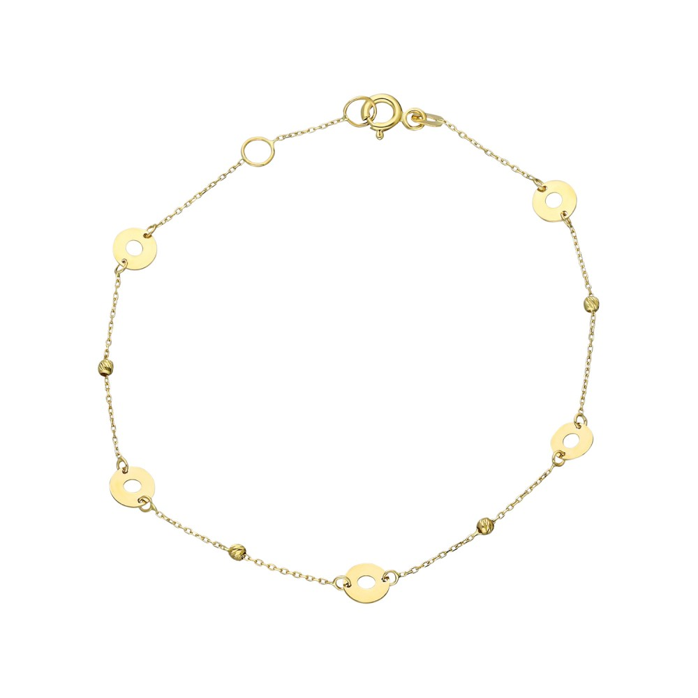 Glorria Gold Dorika Ring Bracelet