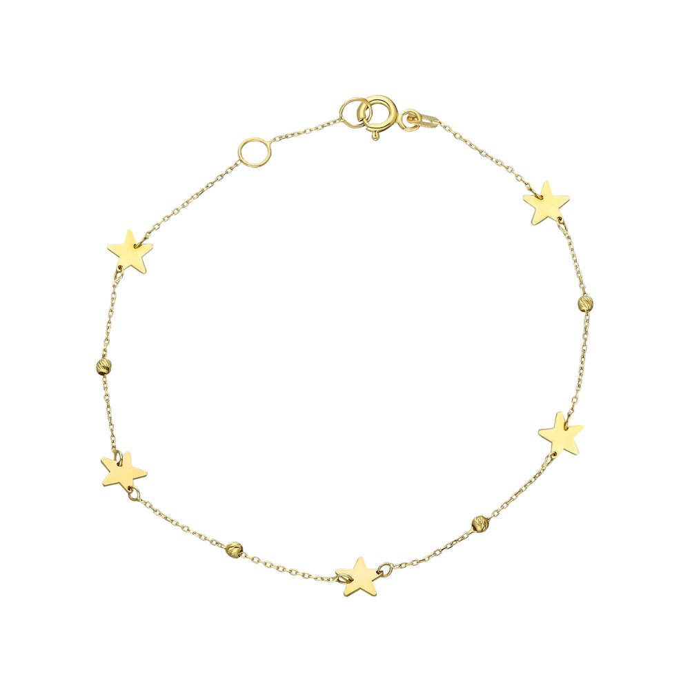 Glorria Gold Dorika Star Bracelet