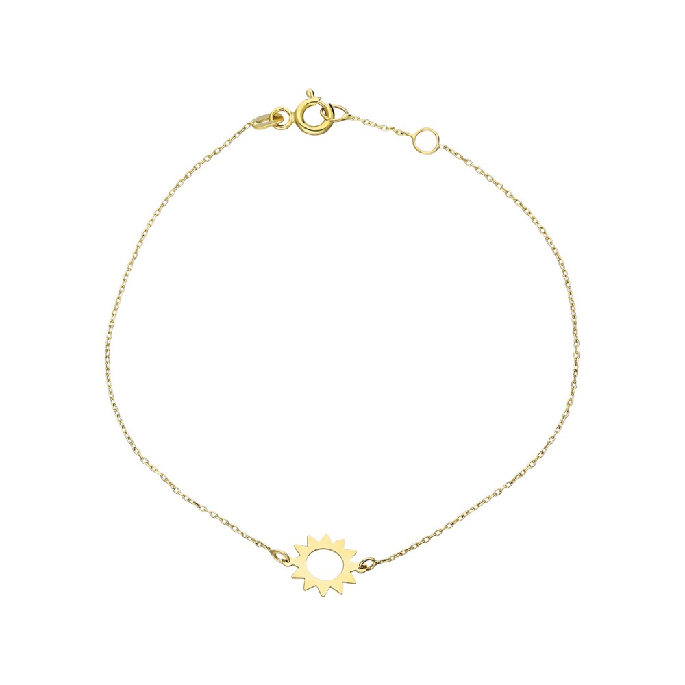 Glorria Gold Sun Bracelet