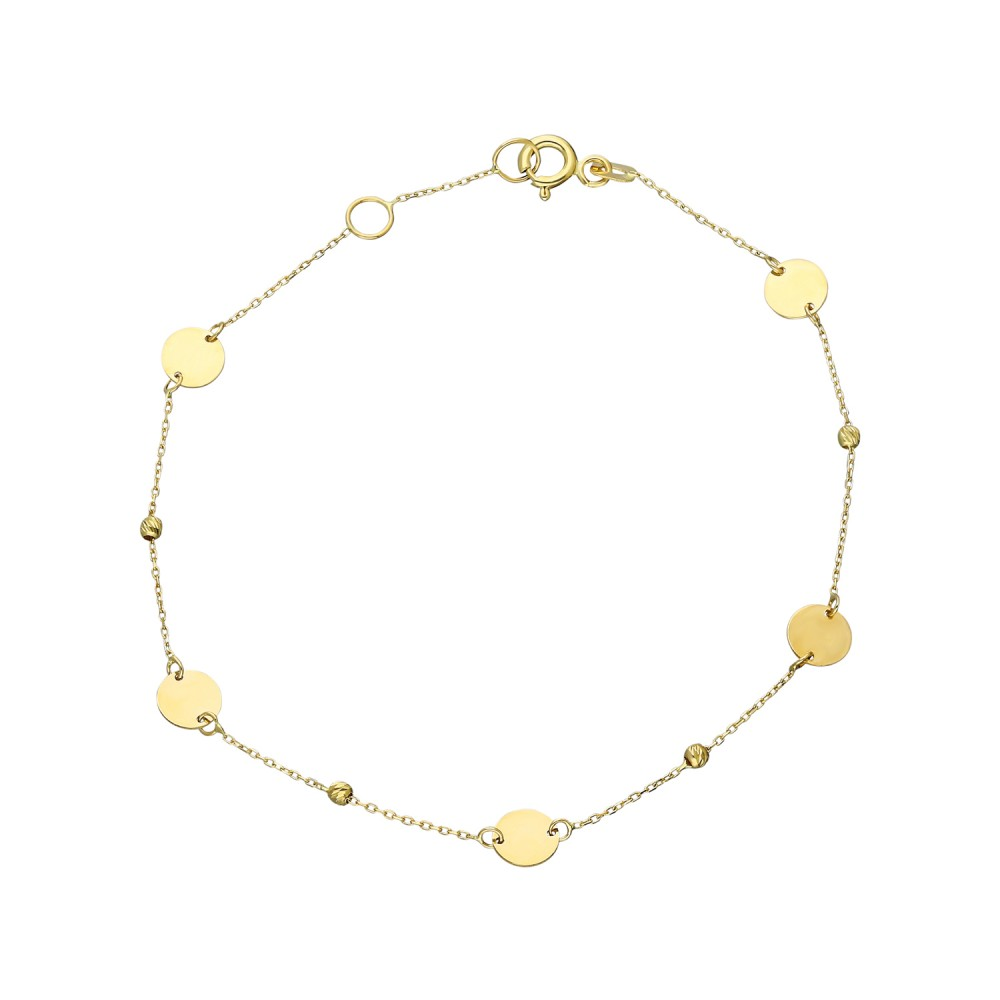 Glorria Gold Dorika Plaque Bracelet