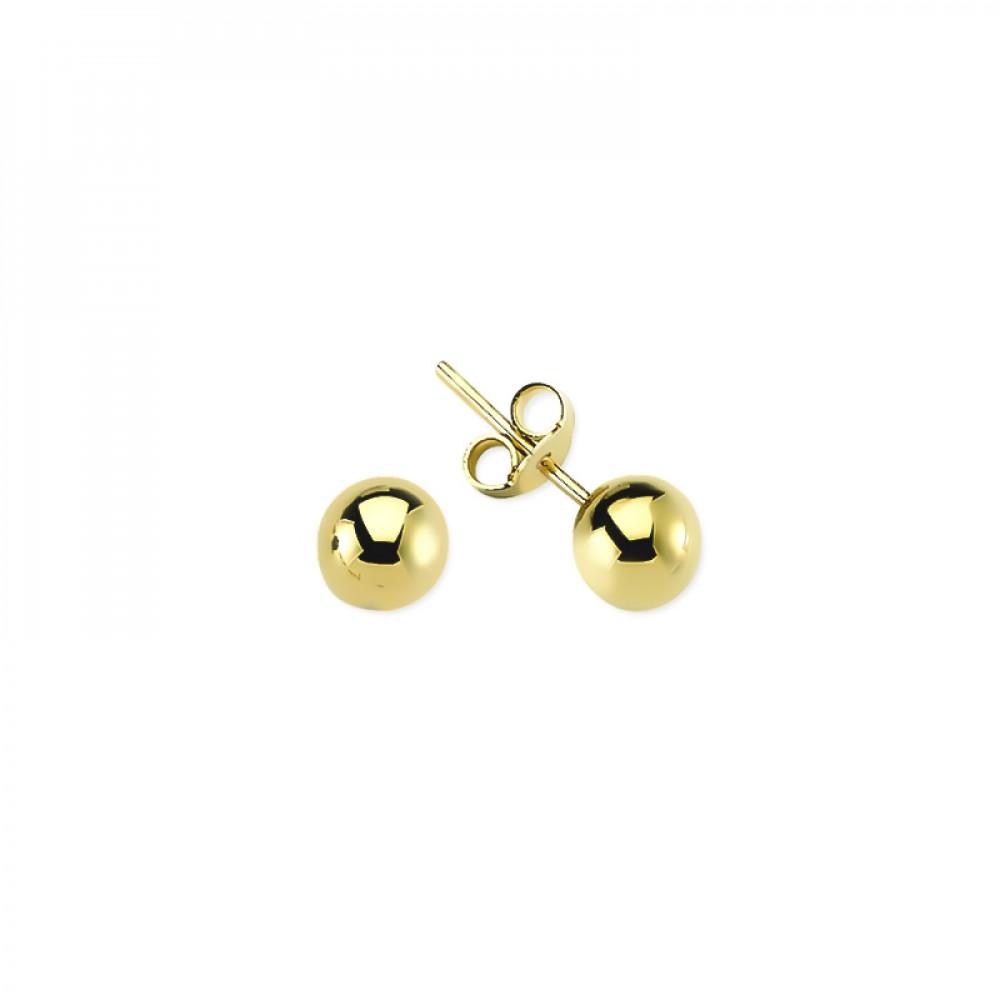 Glorria Gold Ball Earring