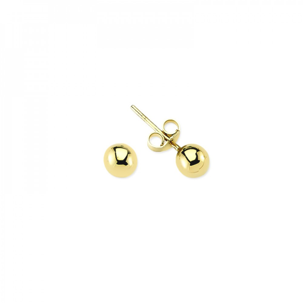 Glorria Gold Ball Earring